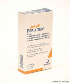 Perlutex (перлутекс) — упаковка 20 таблеток рассчитана на 20 недель применения.
