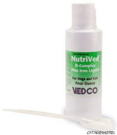 NutriVed B комплекс плюс железо жидкость  (120 мл.)