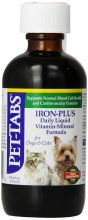 Pet-Tabs Iron Plus for Dogs and Cats -  120 мл.