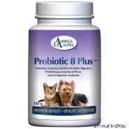 Omega Alpha Probiotic 8 Plus (150 g) для кошек и собак