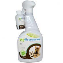 EcoDiscoveries, Pet (60 мл.) концентрат с бутылкой распылителем