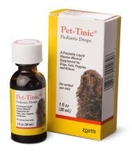 Pet-Tinic (30 мл.)  - жидкий витаминно-минеральный комплекс для собак, кошек, щенков и котят.