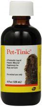 Pet-Tinic (120 мл.)  - жидкий витаминно-минеральный комплекс для собак, кошек, щенков и котят.